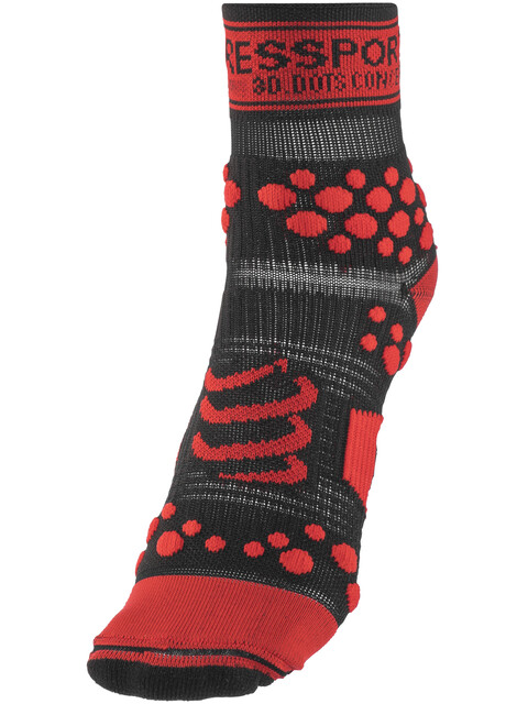 Compressport Racing V2 Trail High Socks Black/Red